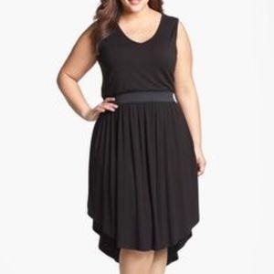 LAmade V-neck High-Low Tank Dress
